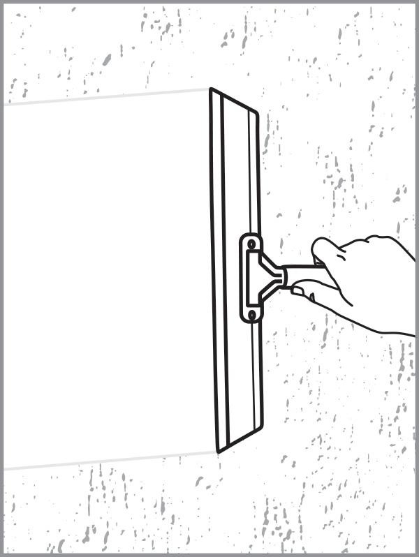 HydroBOND Three Step Process - Step 3 - Blade